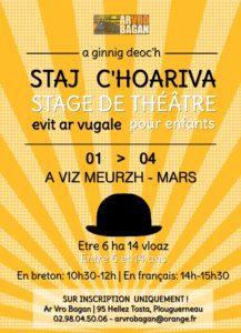 <mark>Stage de Théâtre en breton - Mars 2021</mark> @ Plouguerneau - Ti Ar Vro Bagan | Plouguerneau | Bretagne | France